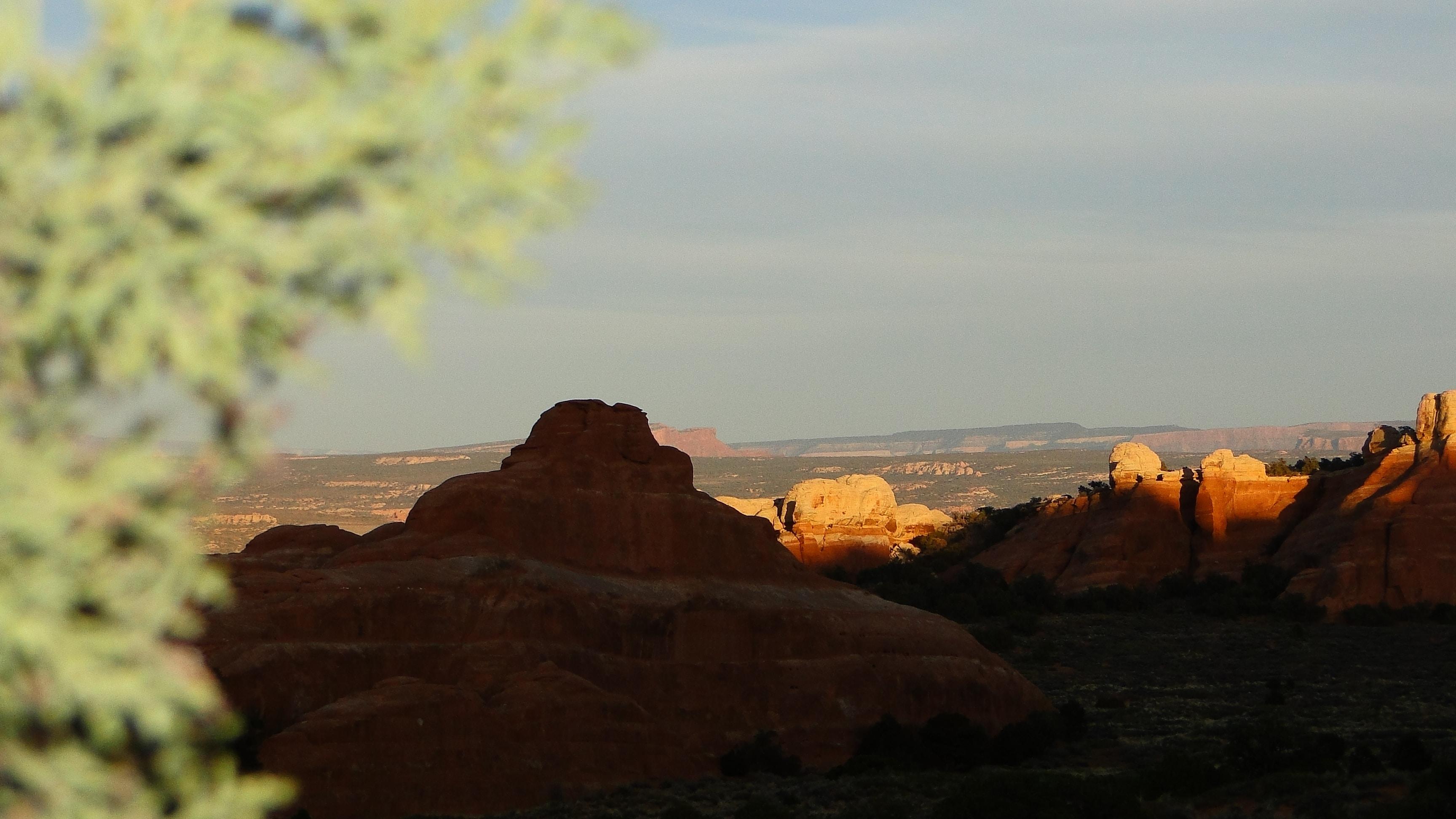 brown fault block mountains during daytime