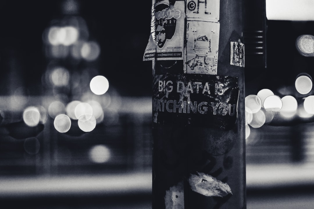Big data is watching you | HD photo by ev (@ev) on Unsplash