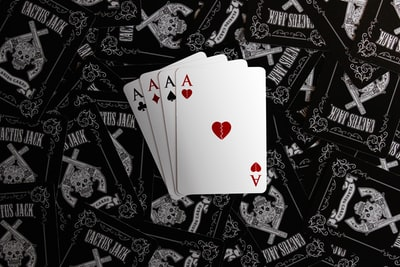 four a playing cards