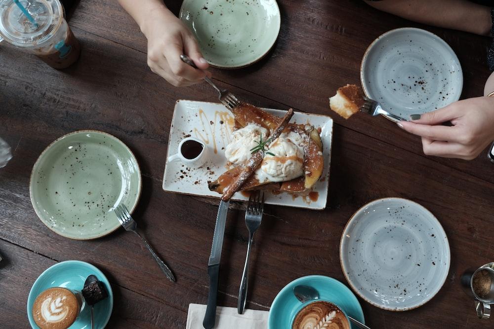 assorted ceramic plates