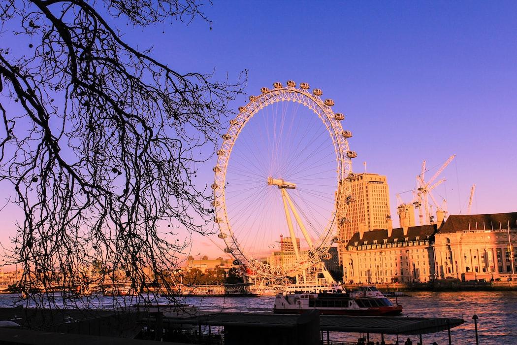 London eye- London in February