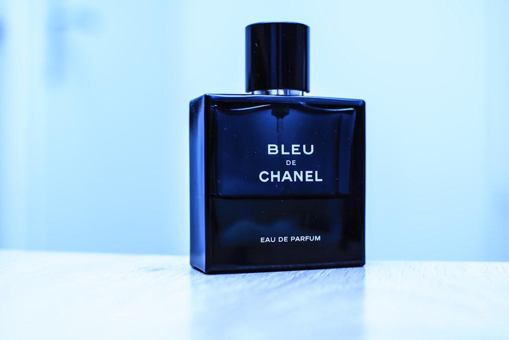 Bleu De Chanel perfume bottle