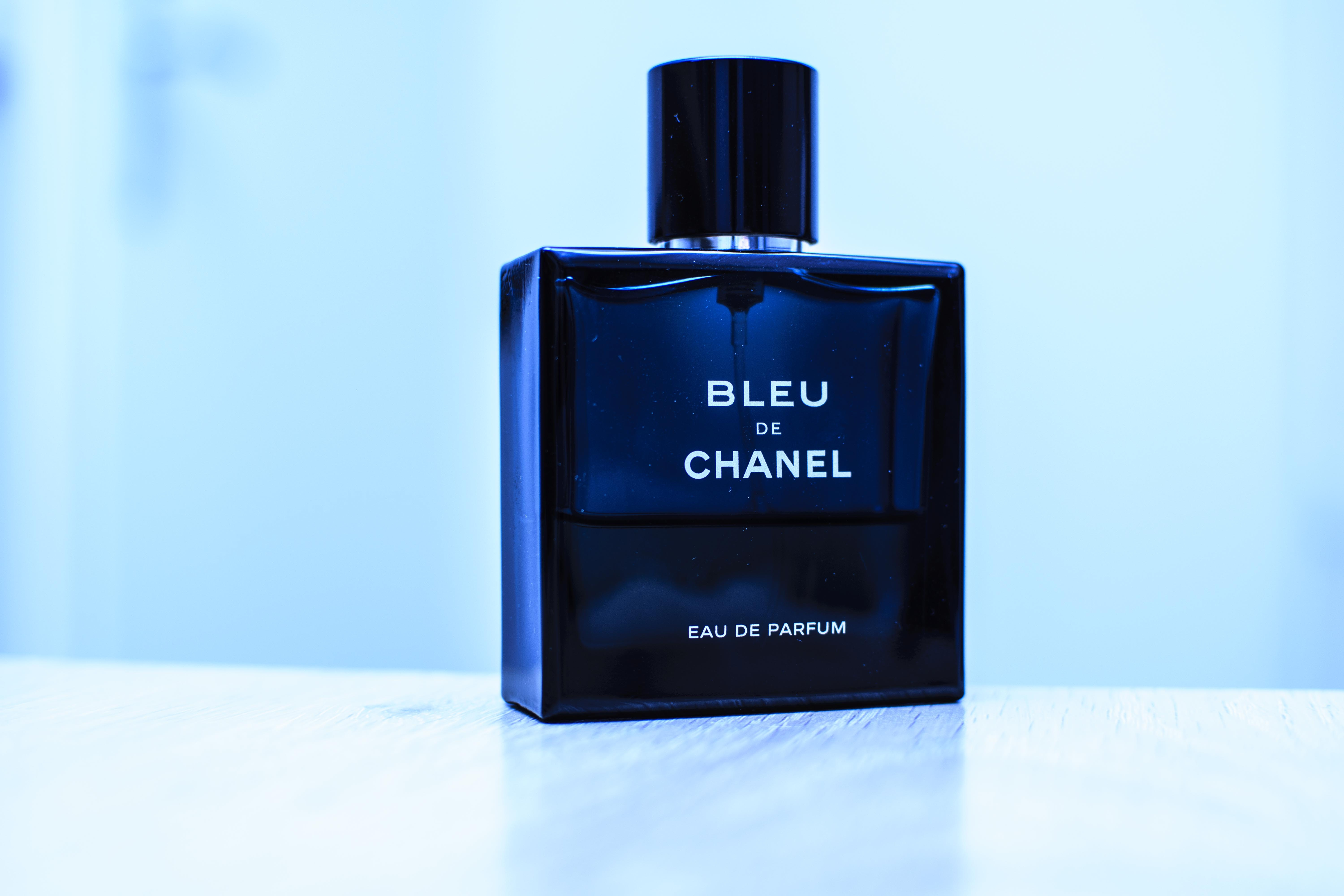 Bleu De Chanel perfume bottle