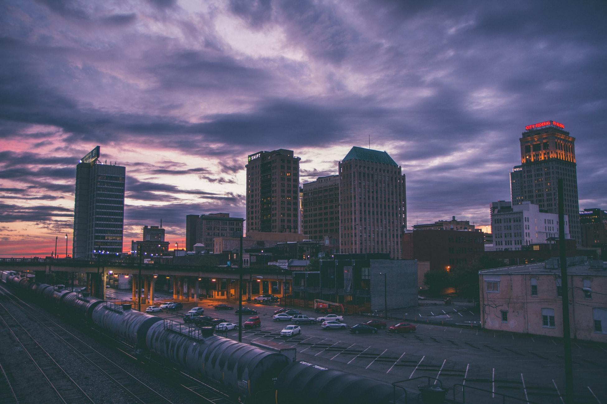 skyline of Birmingham, AL
