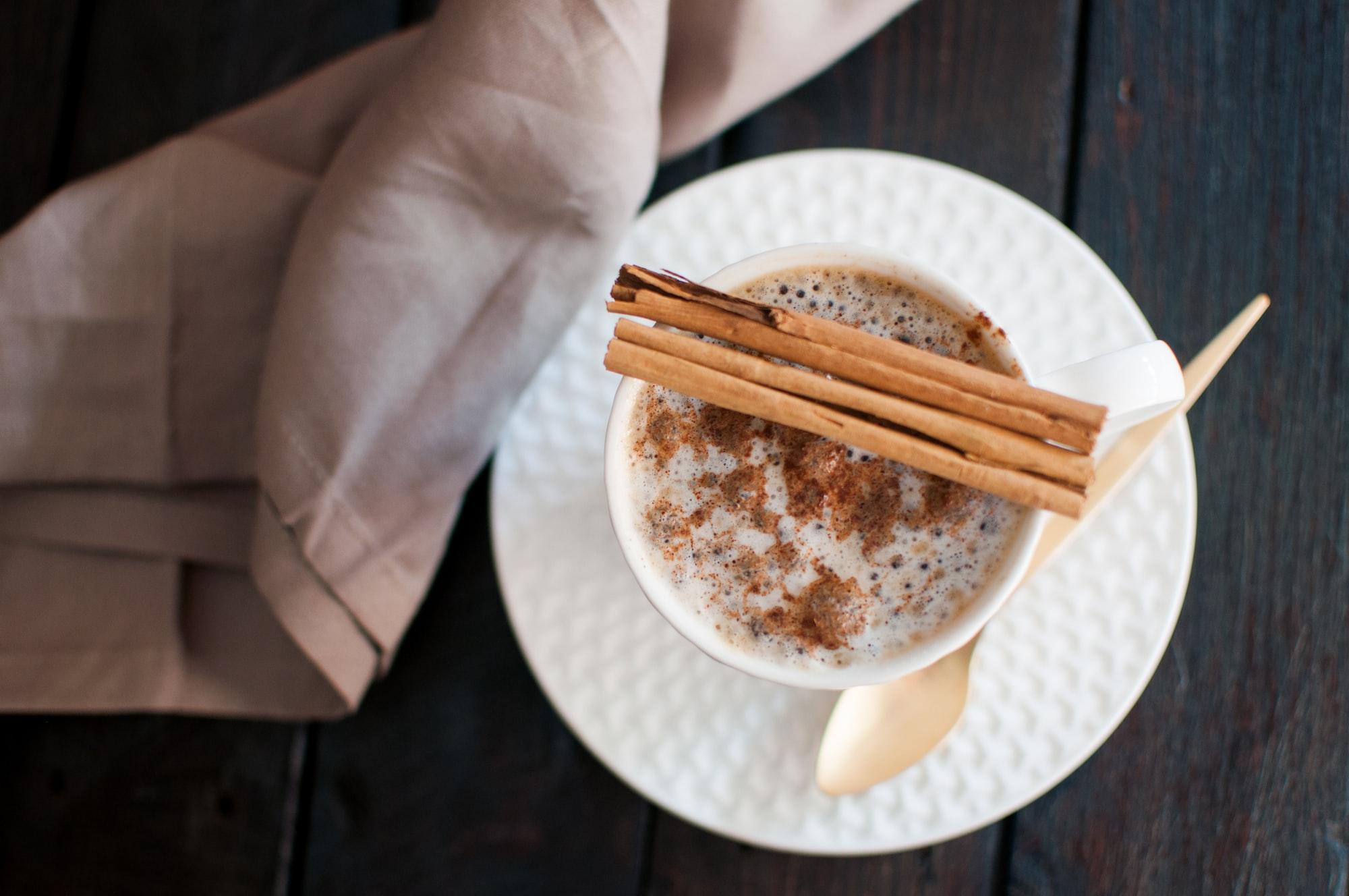 Coffe with cinnamon II