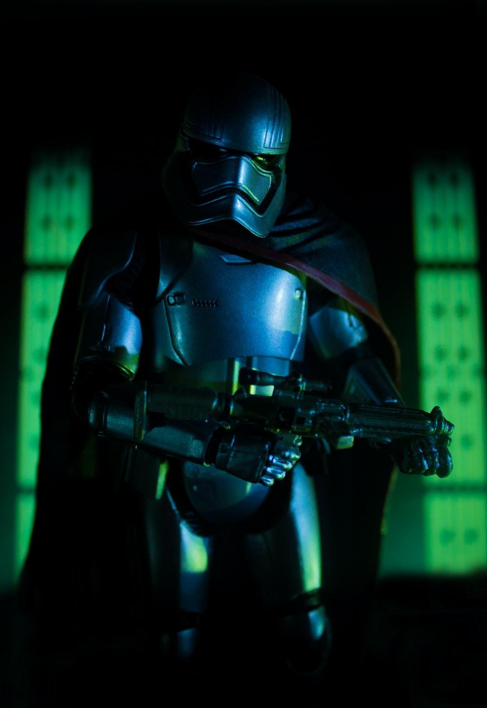 Stormtrooper plastic action figure