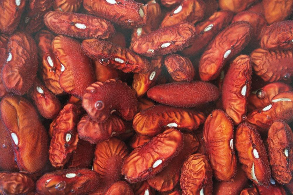 dried brown seeds