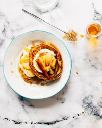 pancakes with cinammon