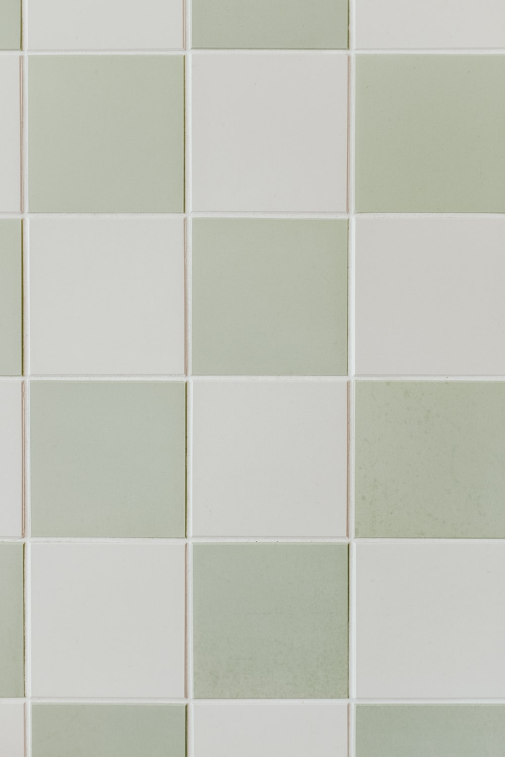 gray and white tiles