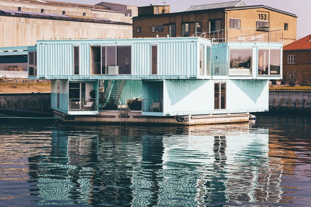 Container Boat House