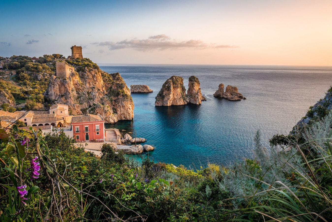 zajímavé destinace na dovolenou sicílie