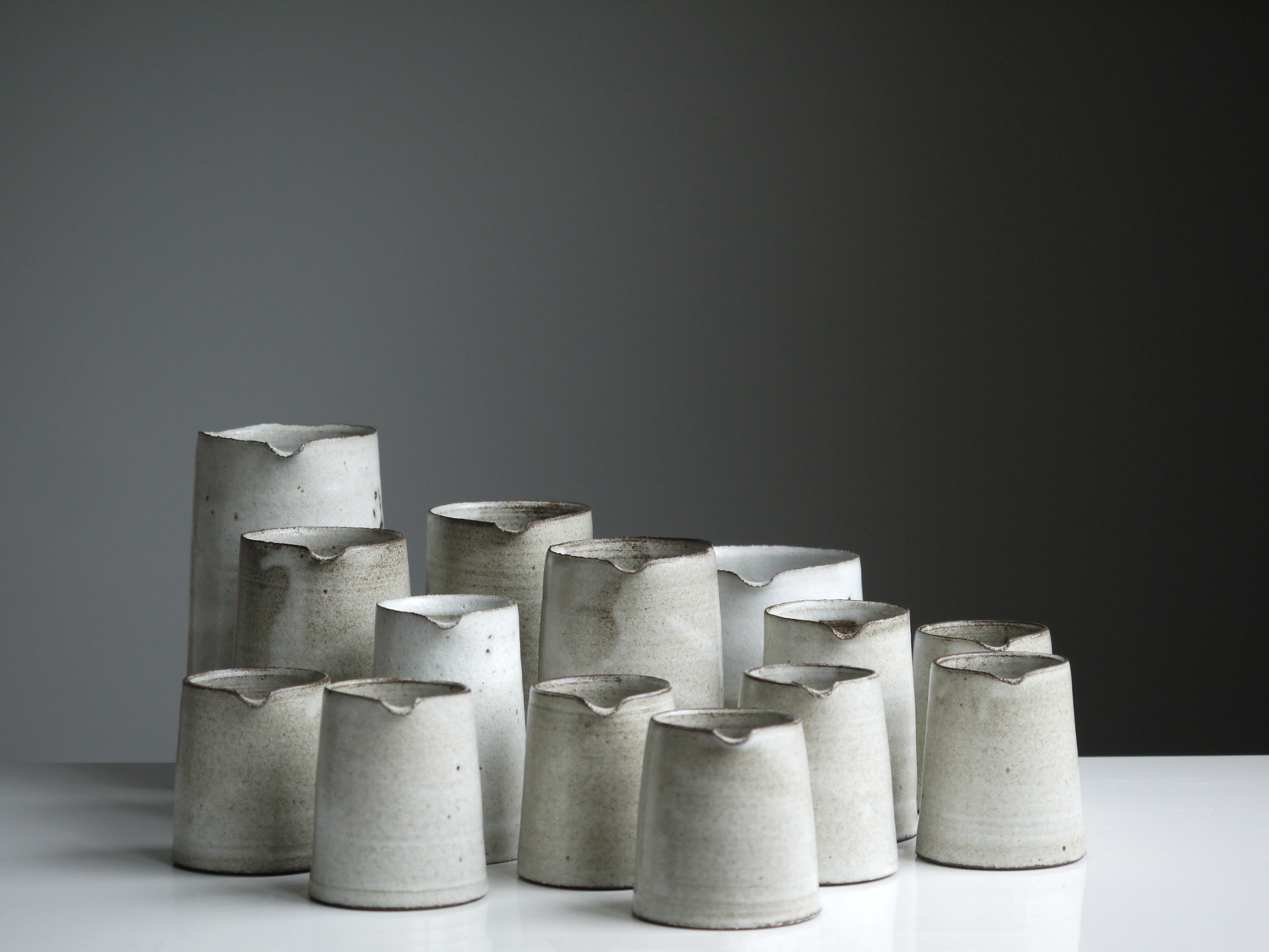 white pitcher lot