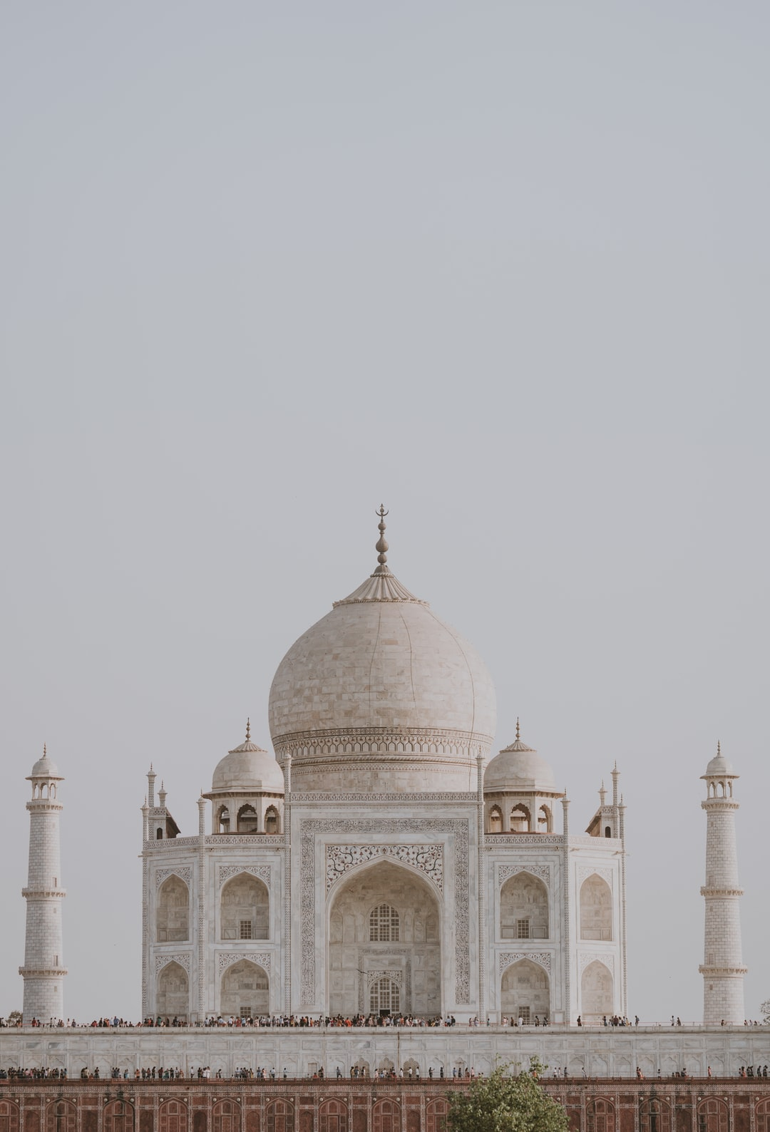 This is a view of the Taj Mahal from Mehtab Bagh,  a charbagh complex in Agra, North India.  Mehtab Bagh lies north of the Taj Mahal complex and the Agra Fort on the opposite side of the Yamuna River, in the flood plains. Taken on our recent family holiday to India 🇮🇳