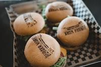 four Burger Works burgers
