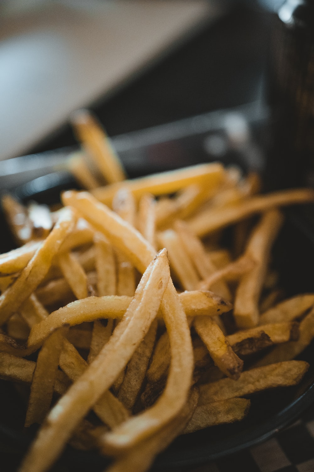 selective focus photograph of fries
