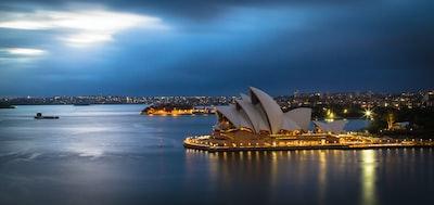 sydney opera house, australia australia zoom background