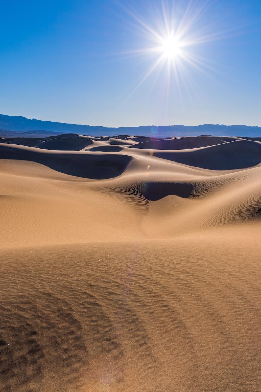 photo of desert dunes