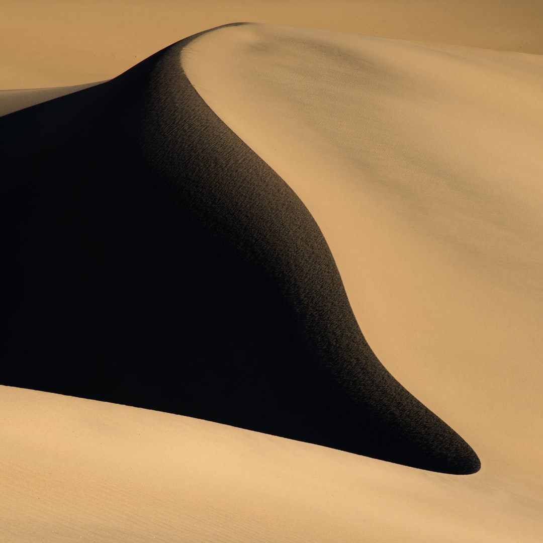 Mesquite Flat Sand Dunes - A good place to visit for an experience to walk on some sand dunes