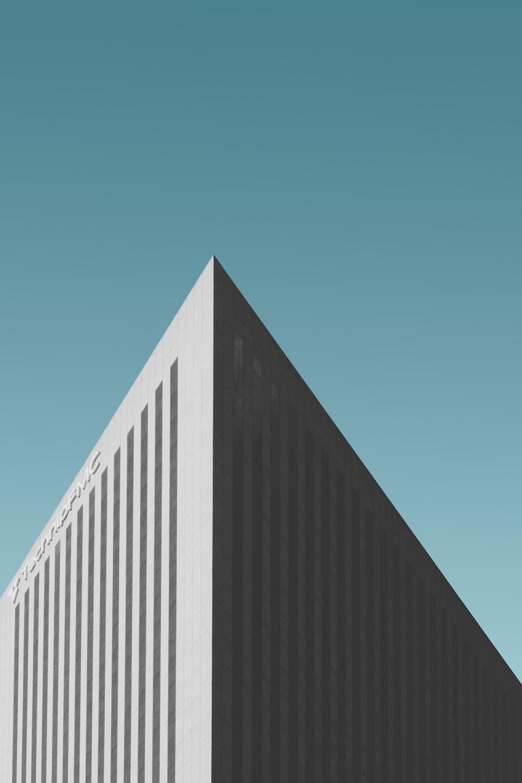 closeup photo of white building