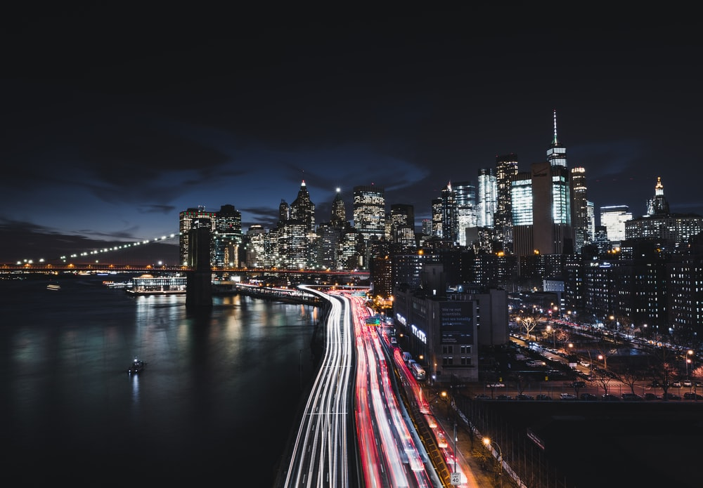 New York City Night Pictures Download Free Images On Unsplash
