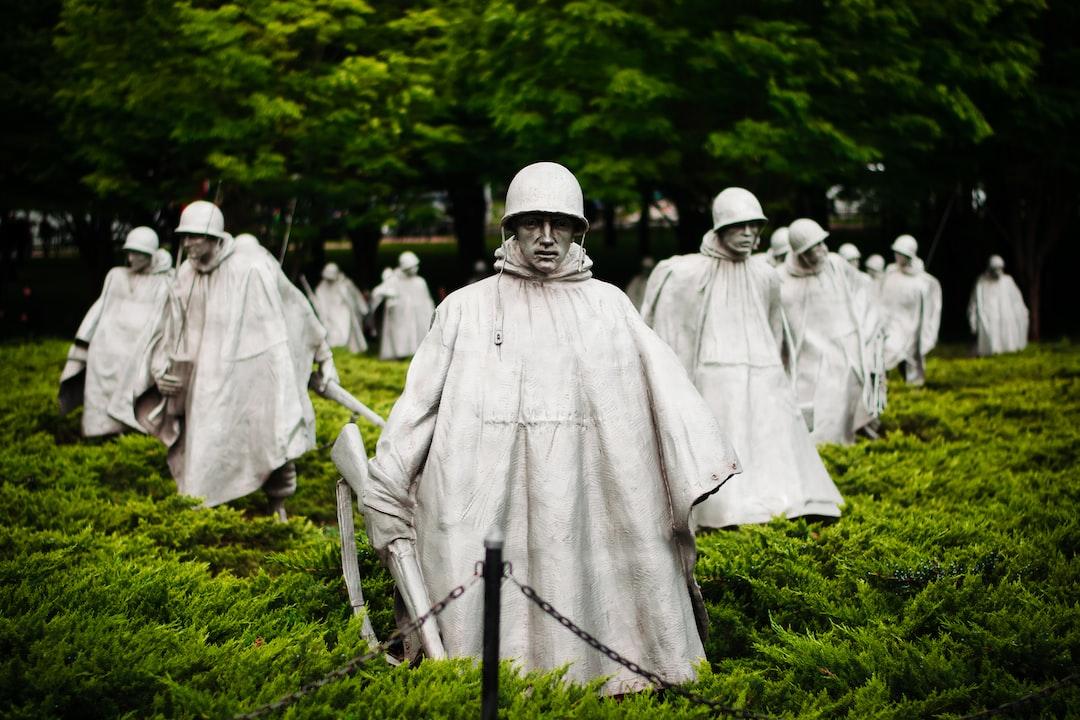 The Korean War Memorial haunts you.