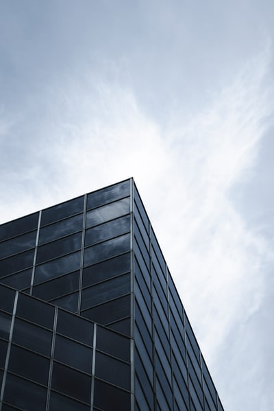 low angle photography of skyscraper