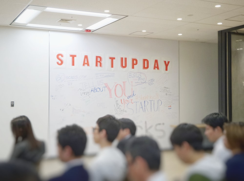 people inside Startupday room