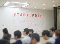 people inside Startupday room
