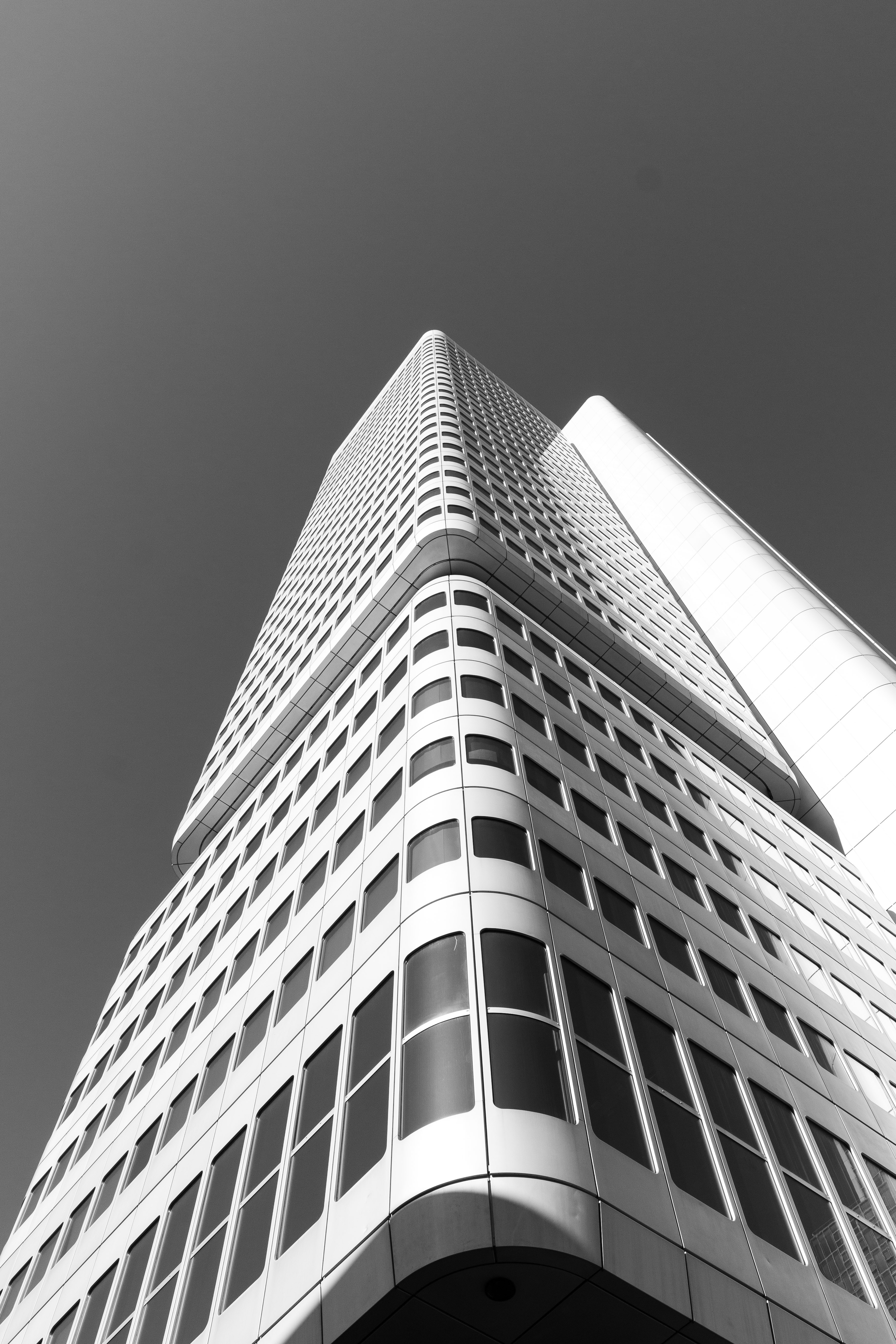low-angle photography of high-rise building