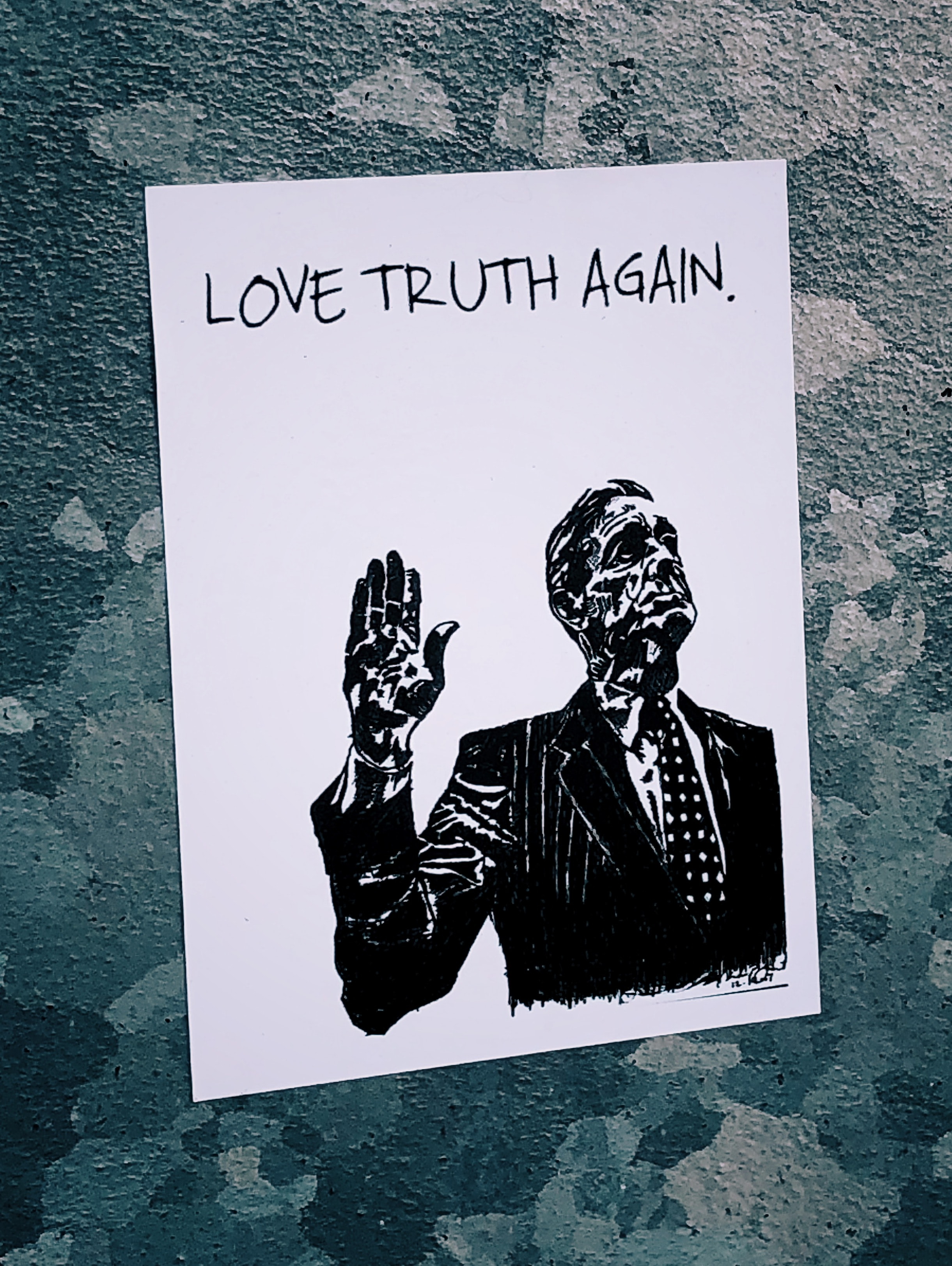 love truth again illustration