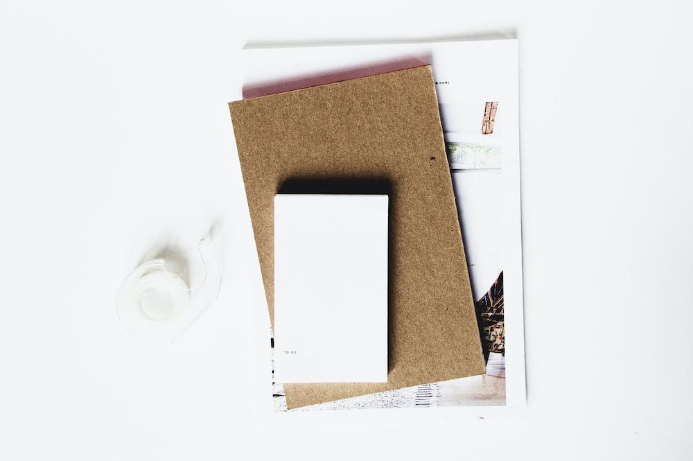 white board on brown corkboard