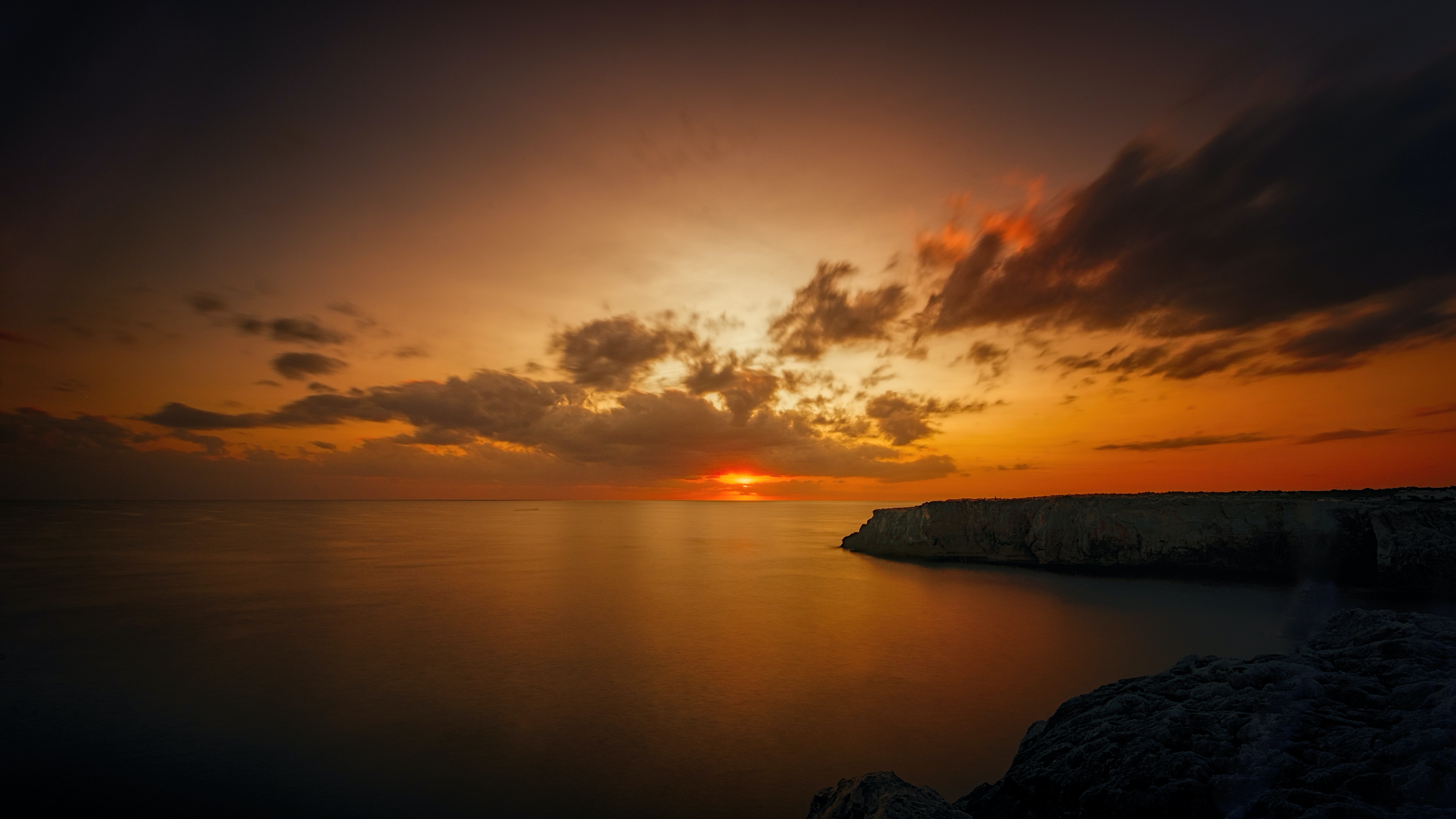 panoramic photography of dawn