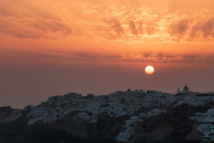 Oia Sunset, Things to Do in Greece in March