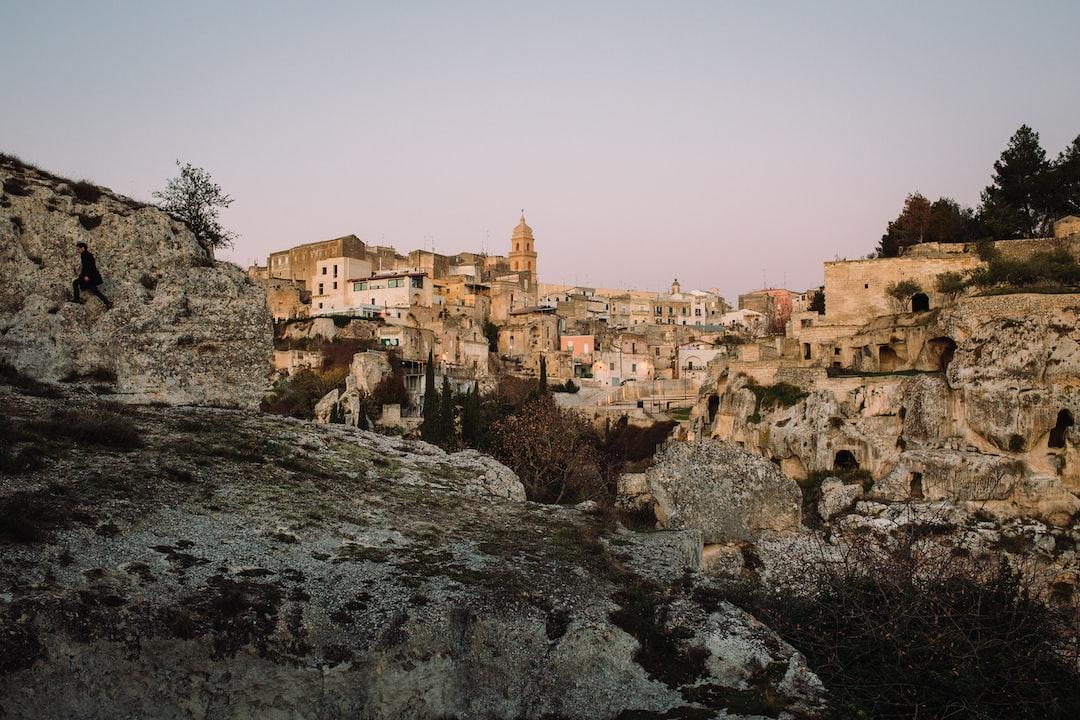 Get off the bus in Gravina In Puglia