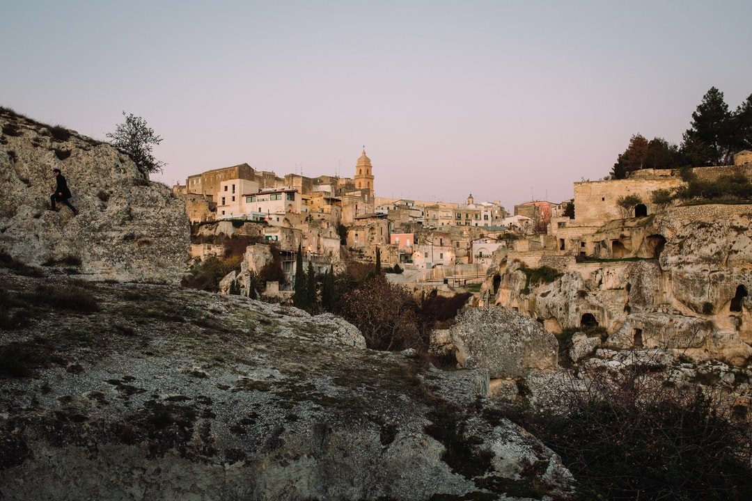 Get on the bus in Gravina In Puglia