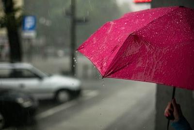 pink umbrella umbrella teams background