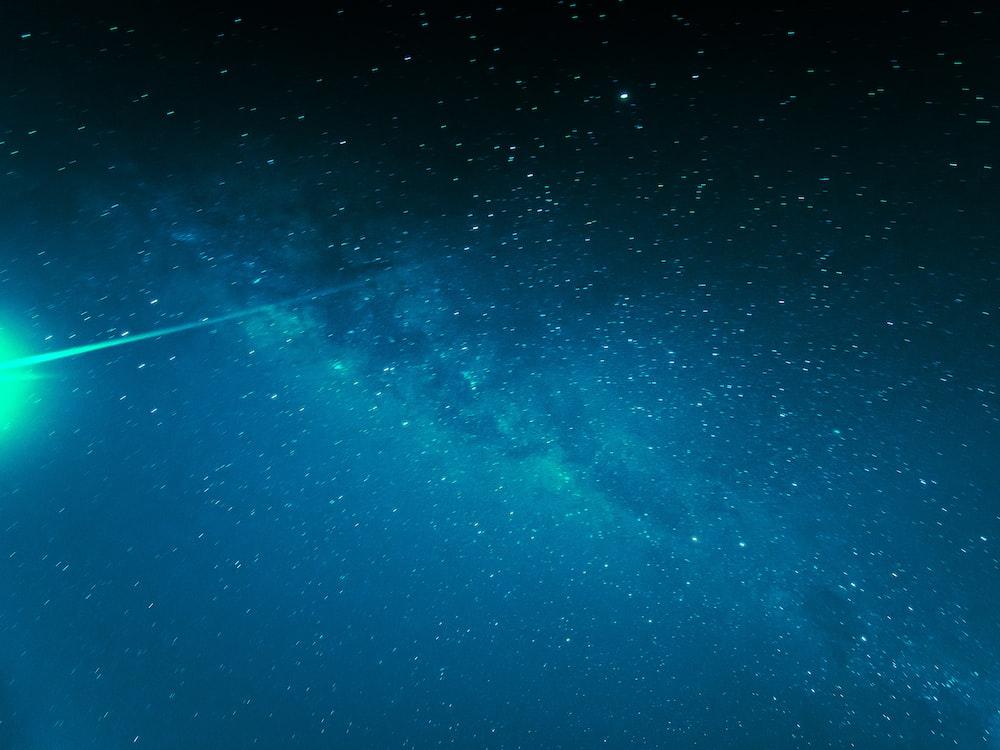 stars during nighttime