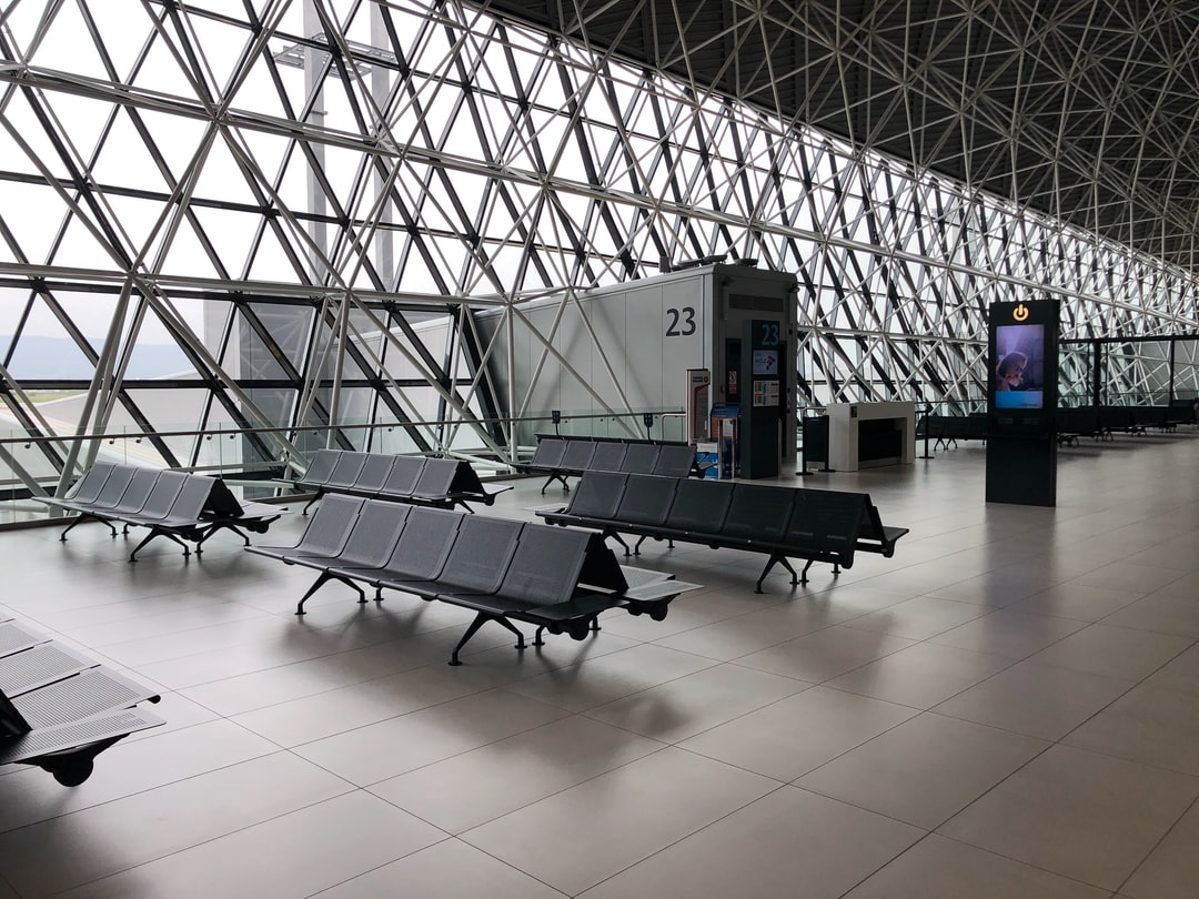 Get on the bus in Zagreb Airport