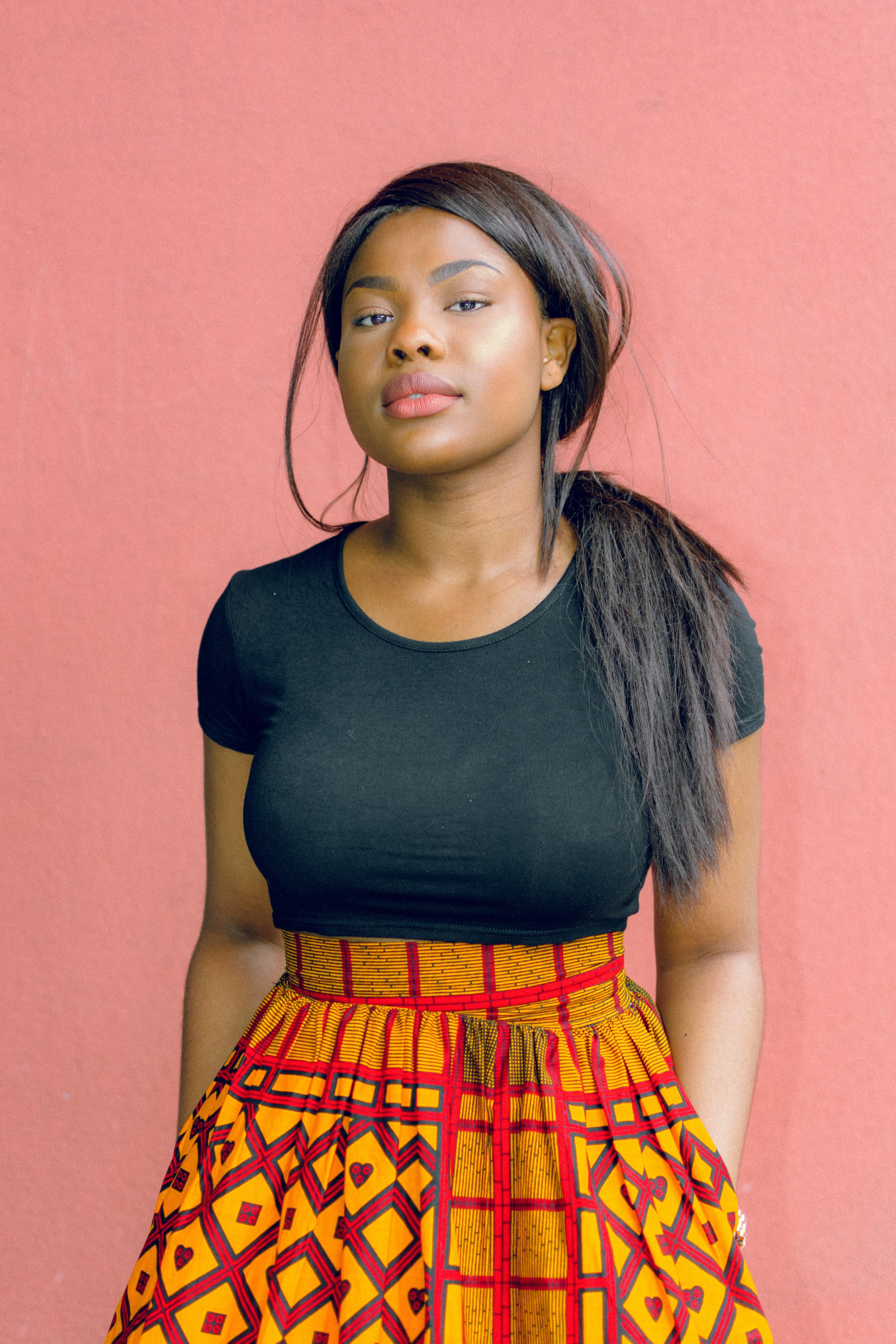 Real ebony girl