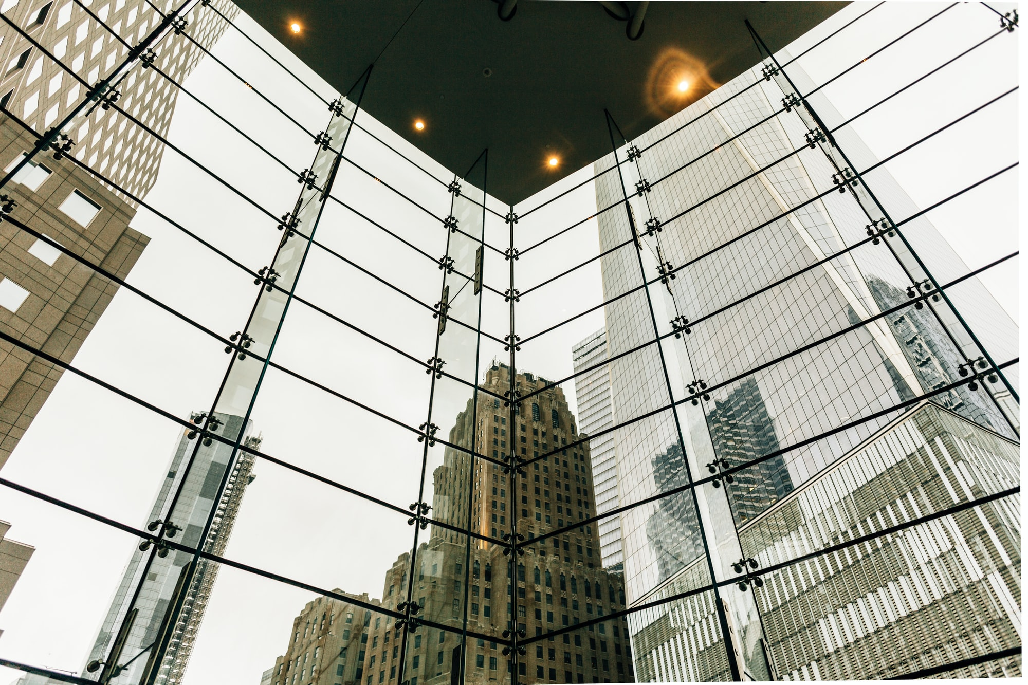 A view of One Trade Center in New York City.