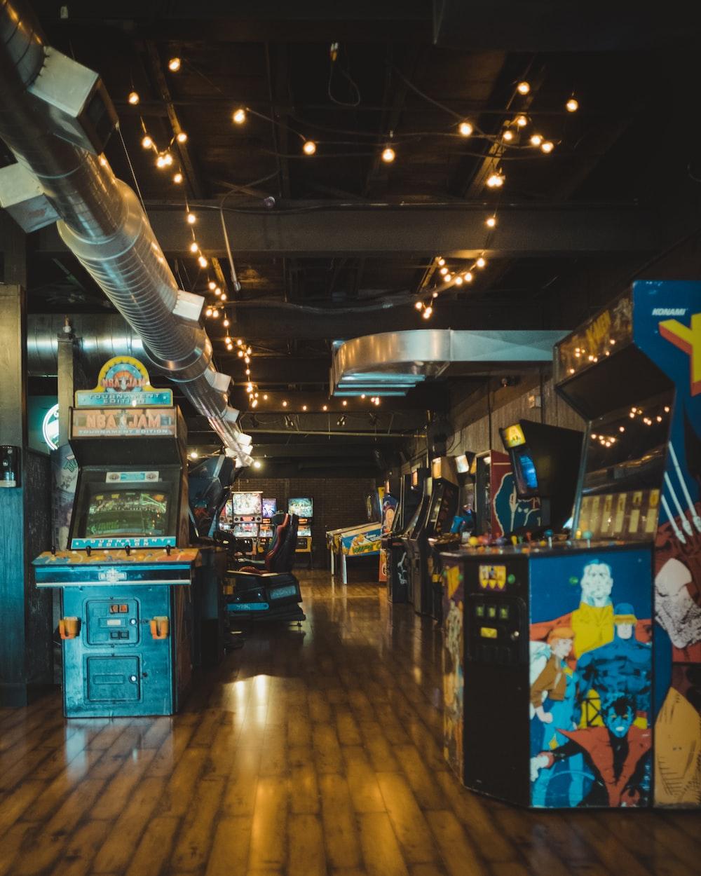 arcade machines lot
