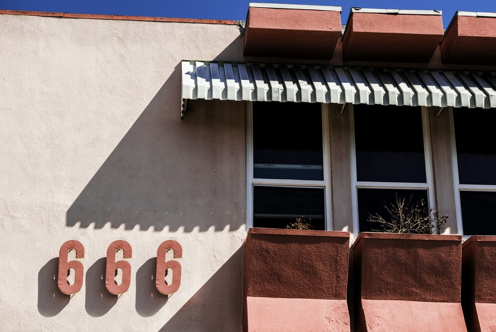 666 printed store building