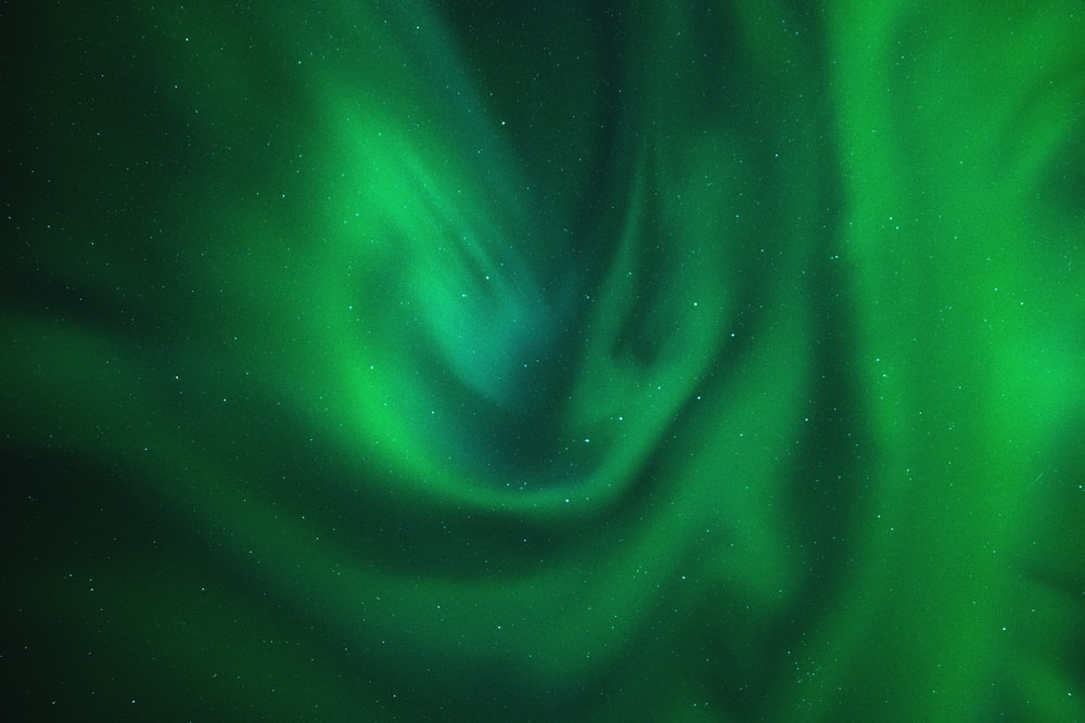 green digital wallpaper