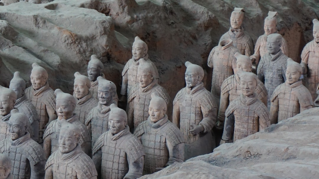 Terracotta Army in Mausoleum of First Qin Emperor