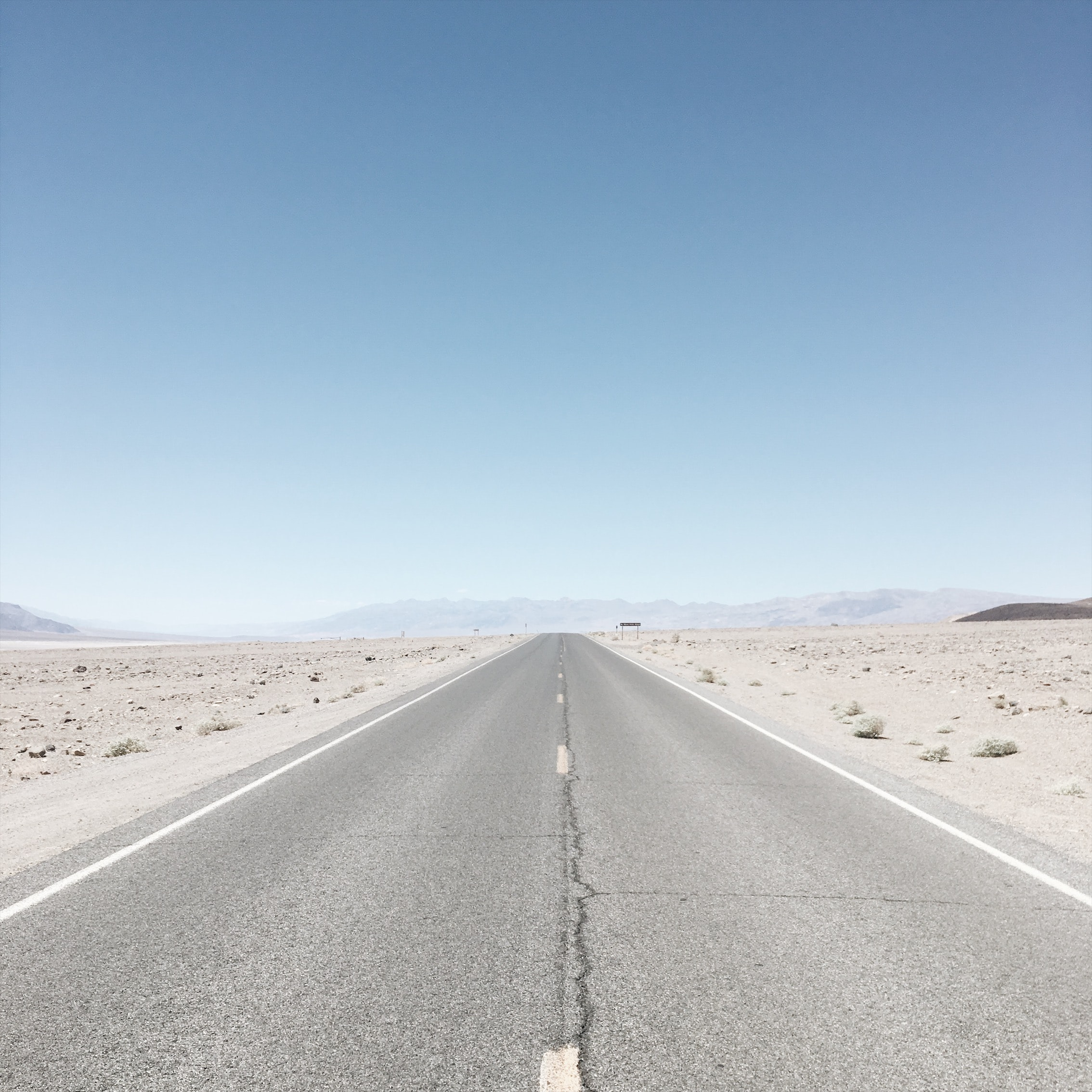 empty highway during daytime