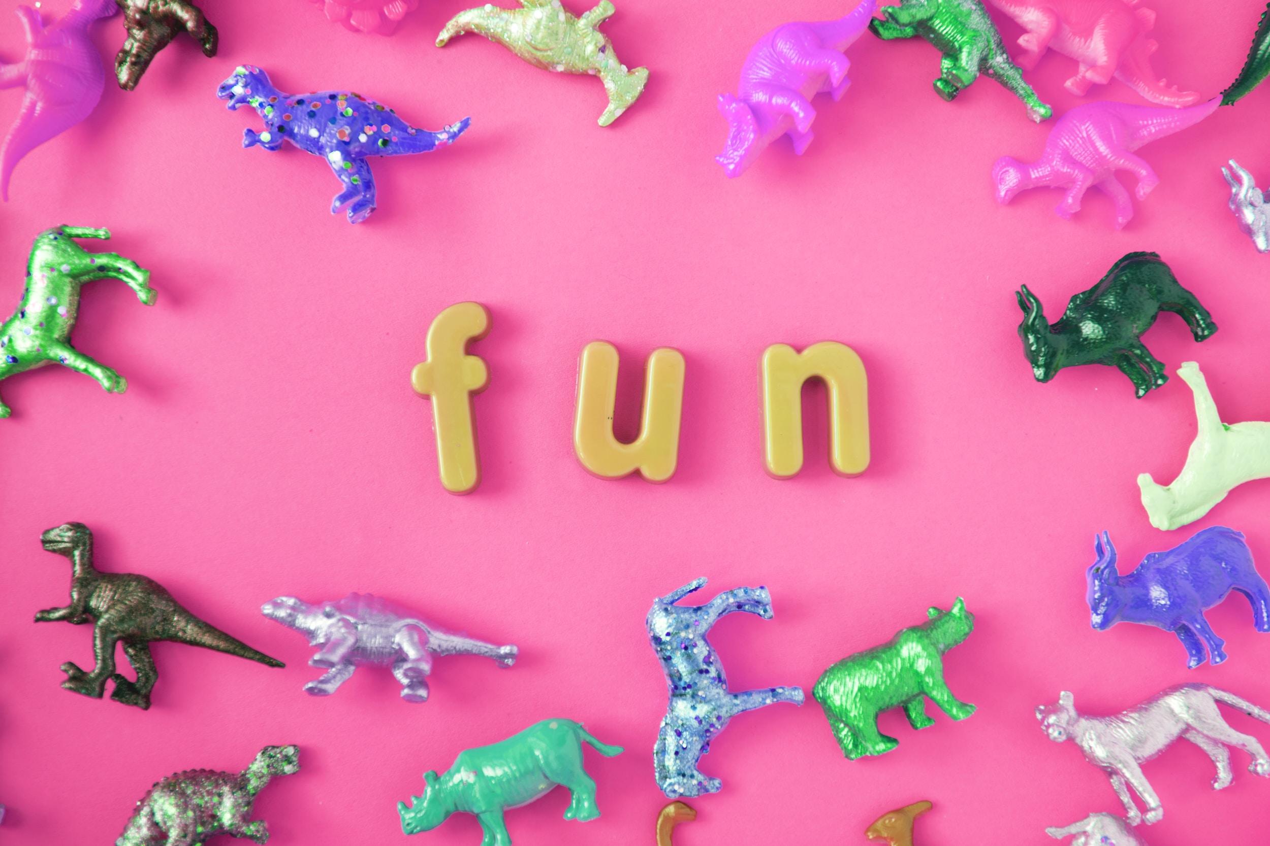 Fun text toys