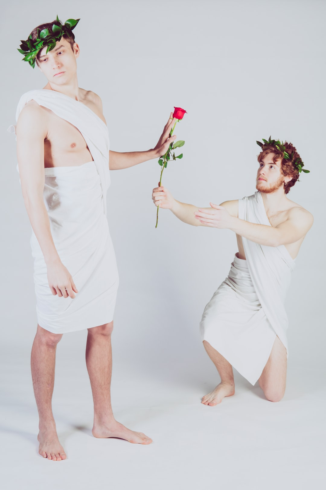 Studio project about narcissus' myth