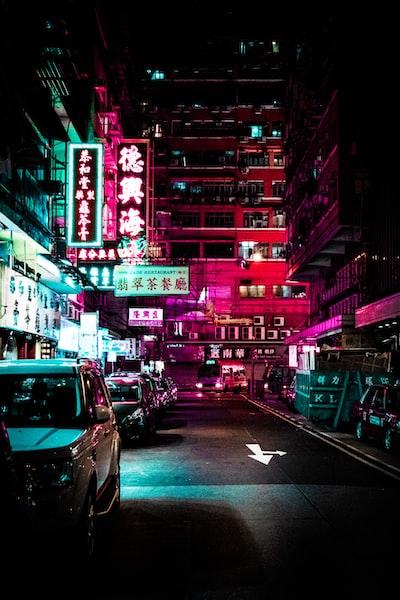 Neon street 02