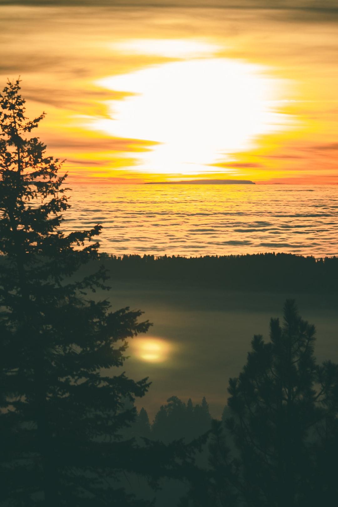 Sunset at Bogus