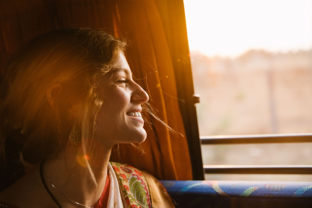Entspannt im Bus Reisen